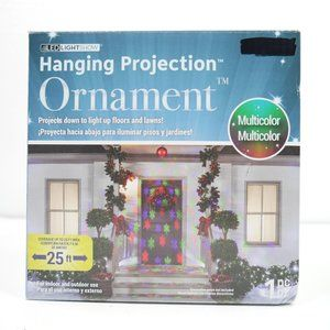 SnowFall LED Lightshow Hanging Projection Ornament